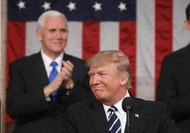 İlk kez ABD Kongresi'nde konuşan Trump'ı bu kez herkesi ikna etti