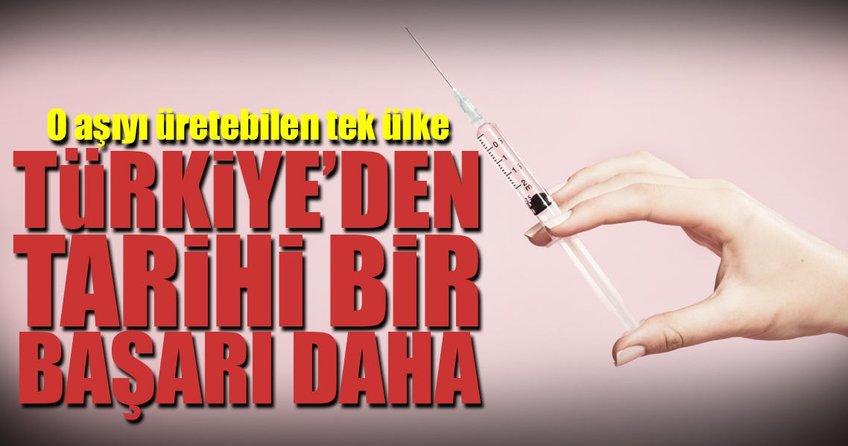 Dünyanın ilk KKKA aşısını Türkiye üretecek