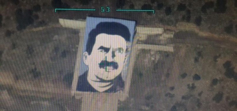 SO-CALLED MONUMENT OF PKK HEAD ÖCALAN DESTROYED IN AFRIN