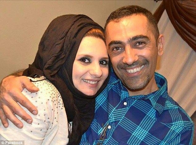 Al-Jumaili (R) and his girlfriend had only been in the United States for about three weeks. (FACEBOOK Photo)