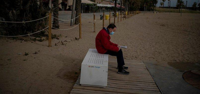 SPAINS NEW CORONAVIRUS CASES HIT WEEKEND RECORD OF 84,287
