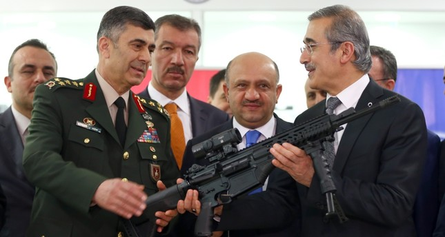 Turkey on target in local arms production