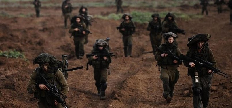 ISRAELI TROOPS LAUNCH GROUND OFFENSIVE ON GAZA STRIP