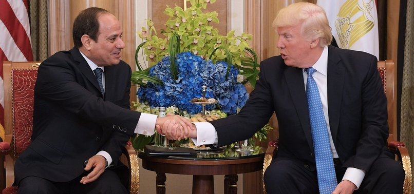 TRUMP TO HOST EGYPTS AL-SISI AT THE WHITE HOUSE ON APRIL 9