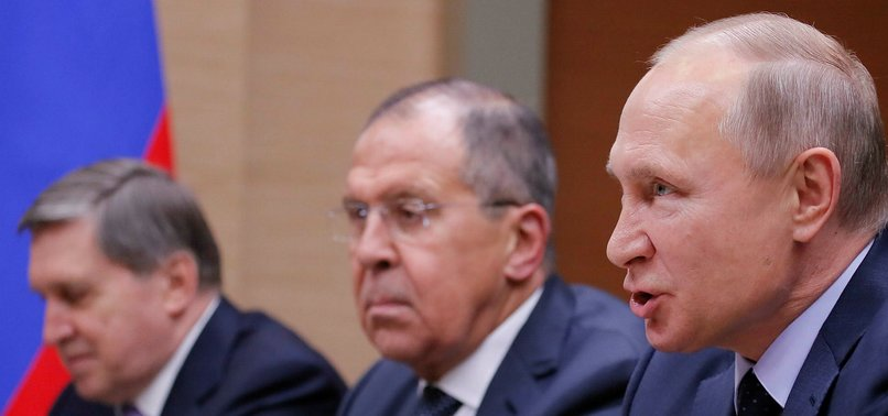 RUSSIA ACCUSES US OF TRYING TO CONTROL EAST SYRIA
