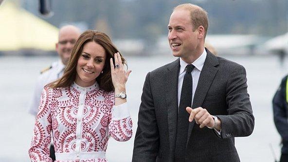 İşte Middletonın çok konuşulan elbisesi