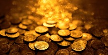 The use of gold for coinage changes history of humanity
