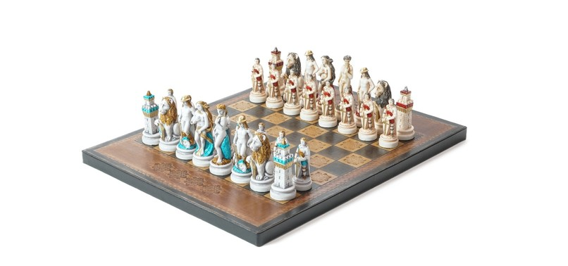 ITALY, GUEST OF THE CHESS MUSEUM