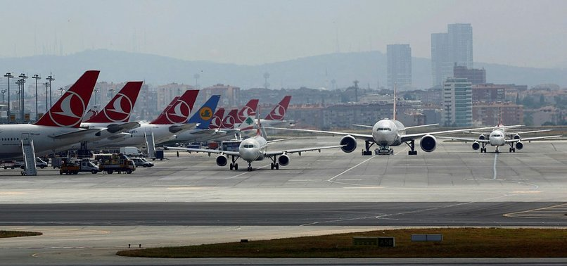 TURKEY SEES ALMOST 18 PERCENTAGE RISE IN AIR PASSENGERS