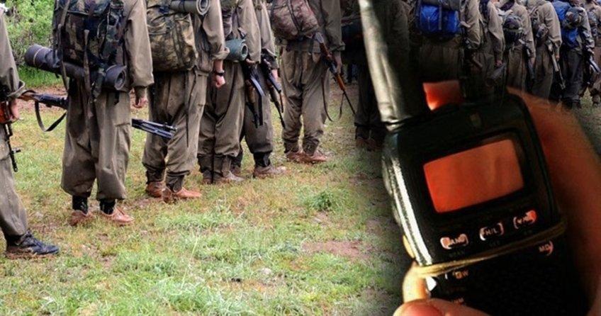 PKK'nın yaşadığı bozgun telsiz konuşmalarına yansıdı