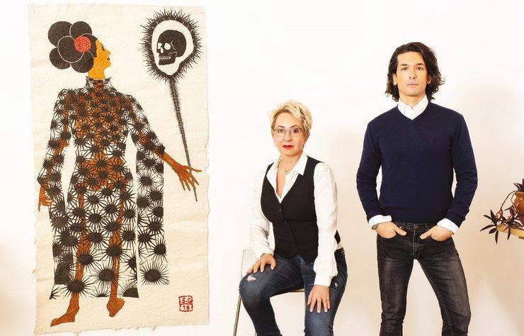 Türkiye'nin en değerli kadın sanatçılarından Selma Gürbüz'ün atölyesine, koleksiyoneri olan vizyoner iş insanı Mehmet Ali Bakanay eşliğinde konuk olduk.