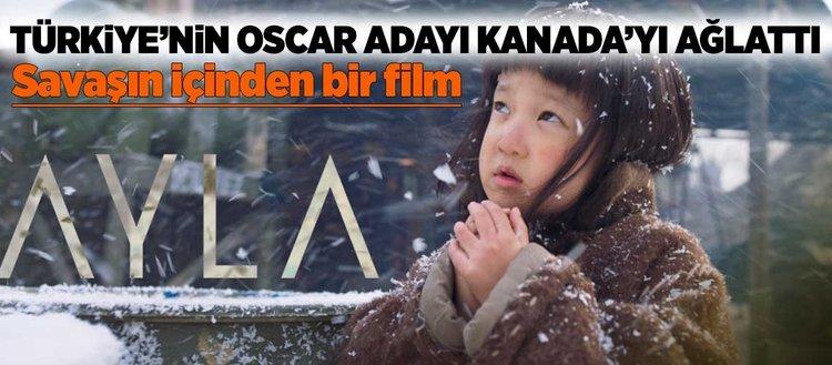 Türkiye'nin Oscar adayından Kanada'da ağlatan gösterim