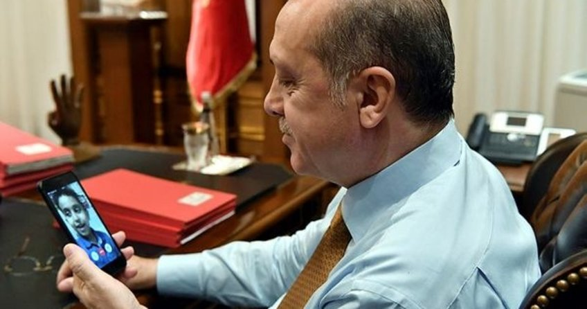 Cumhurbaşkanı Erdoğan'ı duygulandıran telefon görüşmesi