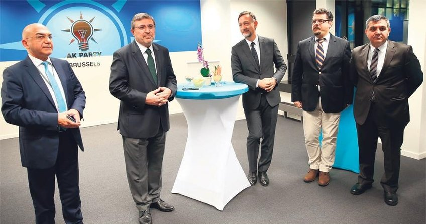AK Parti'den Brüksel'de resepsiyon