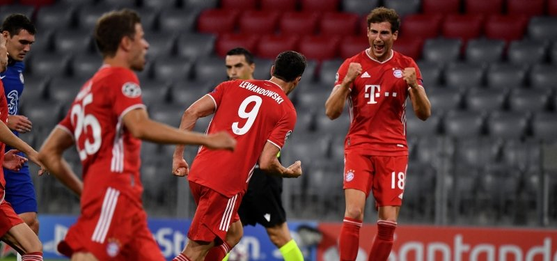 Bayern Munich Crush Chelsea To Move Into Last Eight In Uefa
