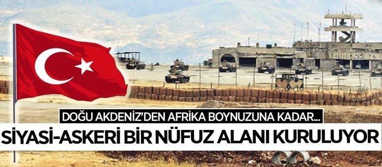Türkiye bölgesel güvenliği ileri üslerle inşa ediyor