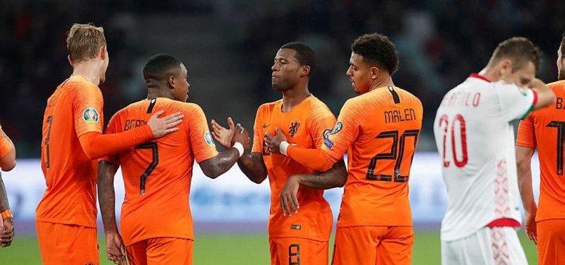WIJNALDUM DOUBLE SEES NETHERLANDS EDGE PAST BELARUS