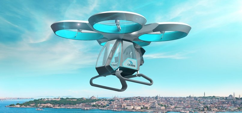 TURKEYS FIRST LOCALLY-MADE FLYING CAR SHOWCASED AT ISTANBUL TEKNOFEST