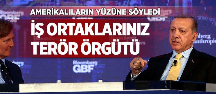 Cumhurbaşkanı Erdoğan'dan Amerika'ya net mesaj