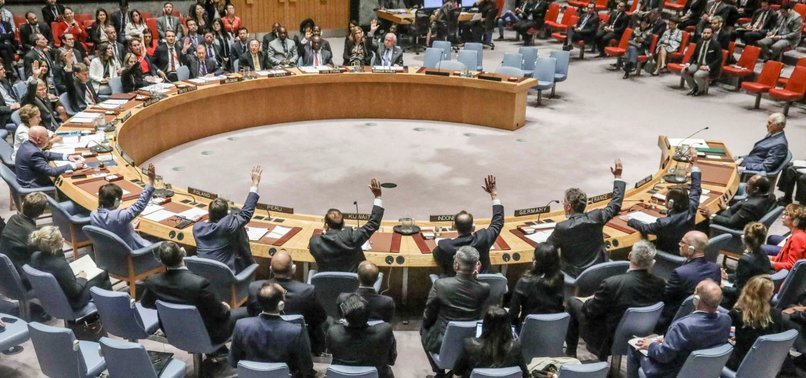 RUSSIA, CHINA VETO UN RESOLUTION FOR CEASE-FIRE IN NW SYRIA