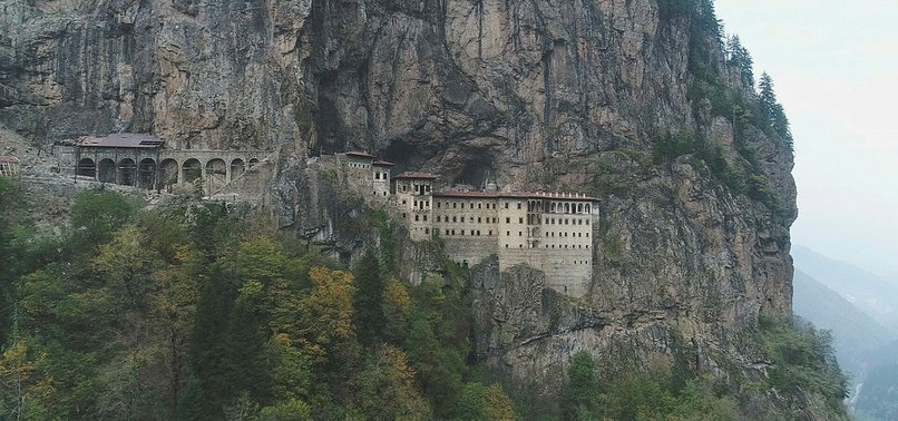 TURKEY'S TRABZON DELIGHTS VISITORS WITH ITS HISTORICAL AND NATURAL BEAUTY