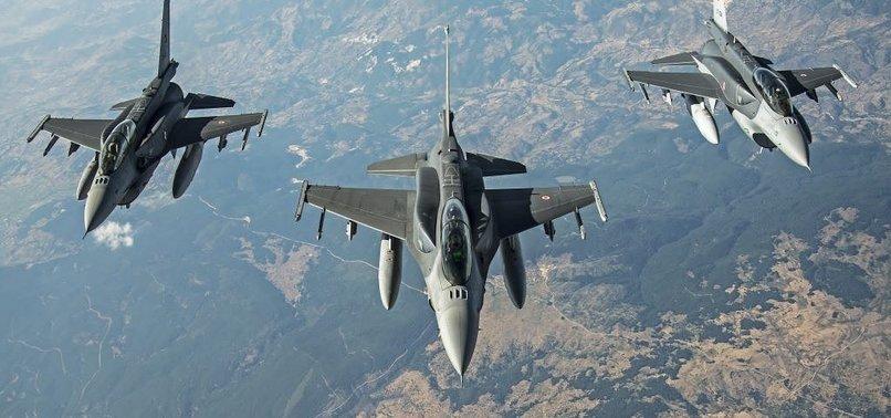 TURKISH JETS DESTROY PKK TERROR TARGETS IN NORTHERN IRAQ