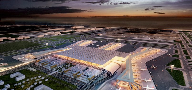 LONG-AWAITED NEW AIRPORT IN ISTANBUL TO OPEN WITH GRAND CEREMONY TODAY