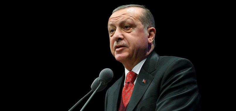 TURKEYS ERDOĞAN COMMENTS ON AFRIN OPERATION