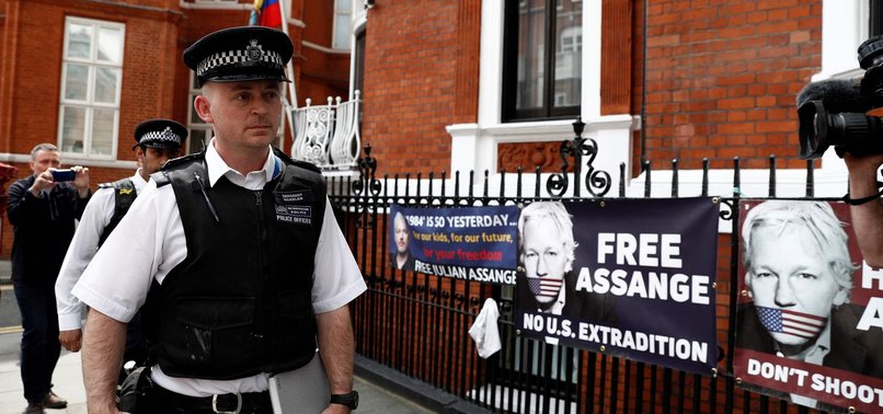 SWEDEN REQUESTS DETENTION ORDER FOR ASSANGE AS US TO SEIZE BELONGINGS