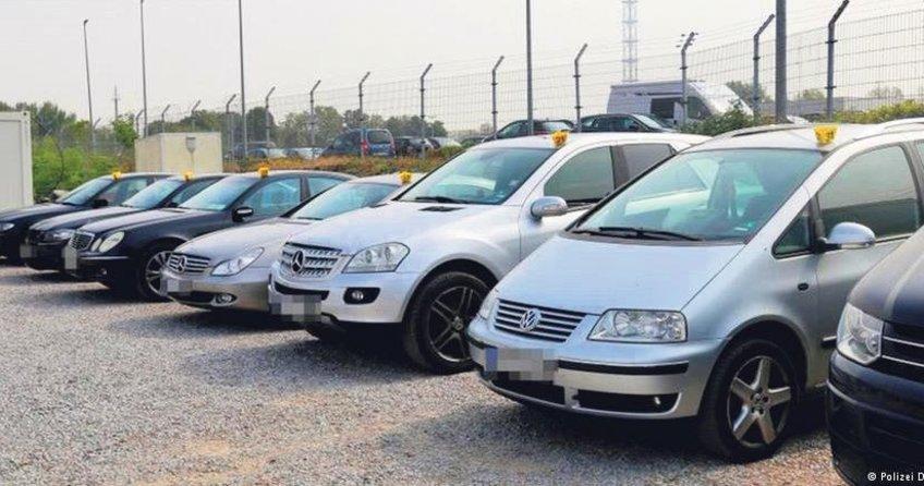 Sosyal yardım alanların lüks araçlarına el kondu