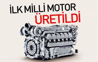 İlk milli dizel motor üretildi