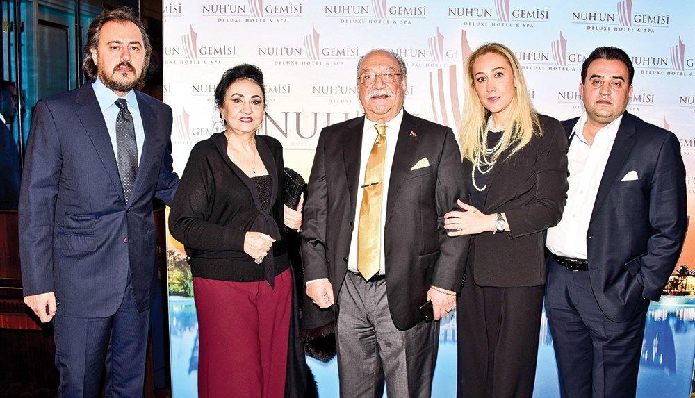 KIBRIS'TAKİ OTEL İÇİN İSTANBUL'DA PARTİ