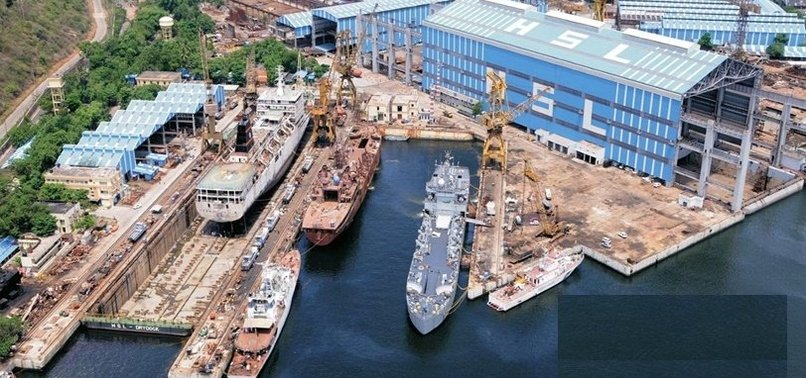 INDIA AFFIRMS $2.3B FOR NAVAL SHIP BUILT WITH TURKISH CONSORTIUM