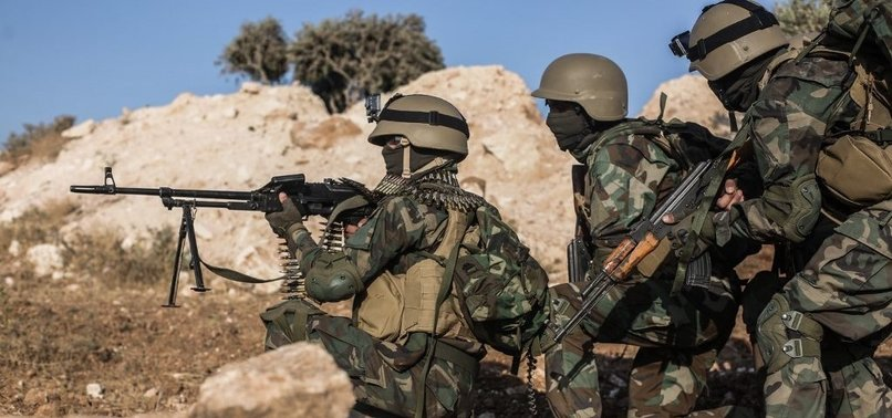 SYRIAN NATIONAL ARMY KILLS 6 YPG/PKK TERRORISTS