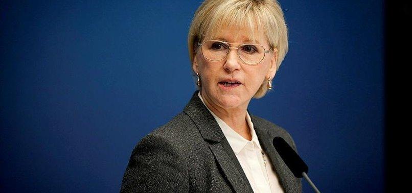 SWEDEN HOLDS US LARGELY RESPONSIBLE FOR GAZA KILLINGS