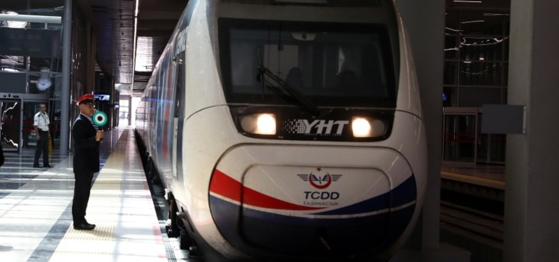 TURKEY TO EXPAND RAILWAY NETWORK TO 16,675 KILOMETERS BY 2023