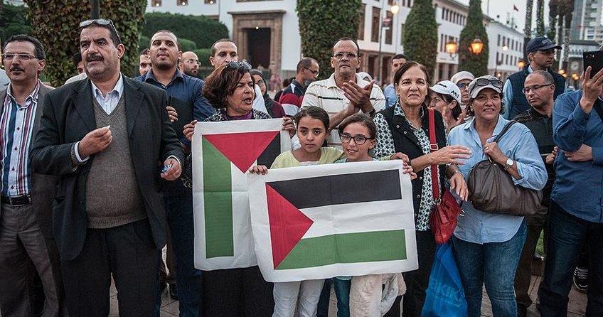 Fas'ta İsrail heyetine tepki