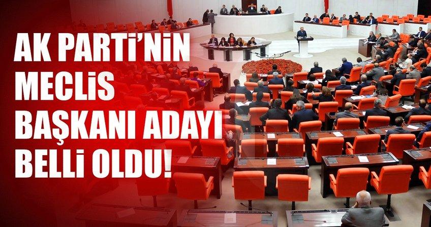 Son dakika: AK Parti'nin Meclis Başkan adayı İsmail Kahraman oldu
