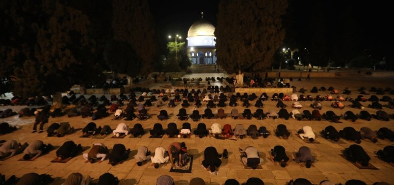 JERUSALEMS AL-AQSA MOSQUE REOPENS AFTER MORE THAN TWO MONTHS