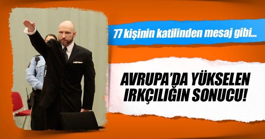 Breivik duruşma salonuna Nazi selamı vererek girdi