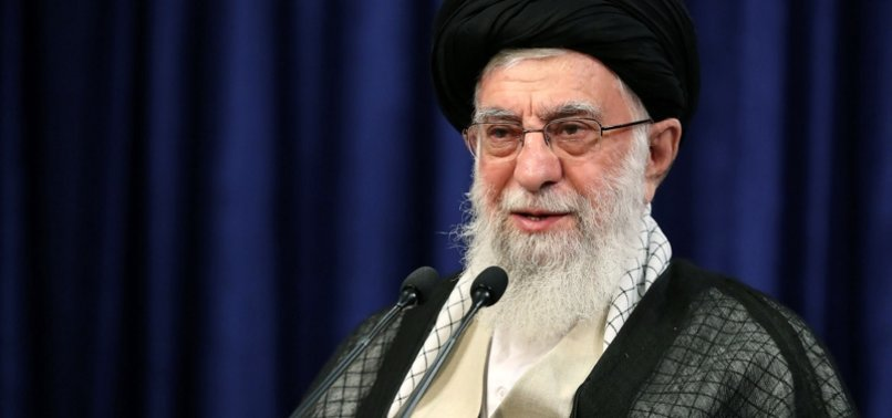 IRANS KHAMENEI SLAMS EU FOR FAILING TO SALVAGE 2015 NUCLEAR DEAL