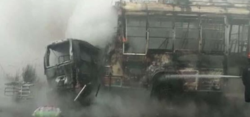 TWO DOZEN KILLED IN SEPARATE ROAD ACCIDENTS IN PAKISTAN