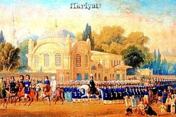 Osmanlı'nın ihtişamlı saltanat geleneği: Kılıç alayı
