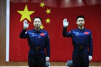 China to launch two astronauts into space on Monday
