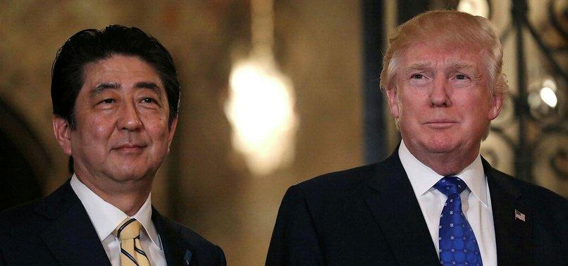 TRUMP, JAPANS ABE SEEK CONSENSUS ON NORTH KOREA AMID STRAINS