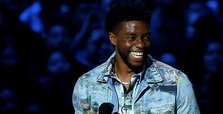 'Black Panther' star honors real-life hero at MTV awards
