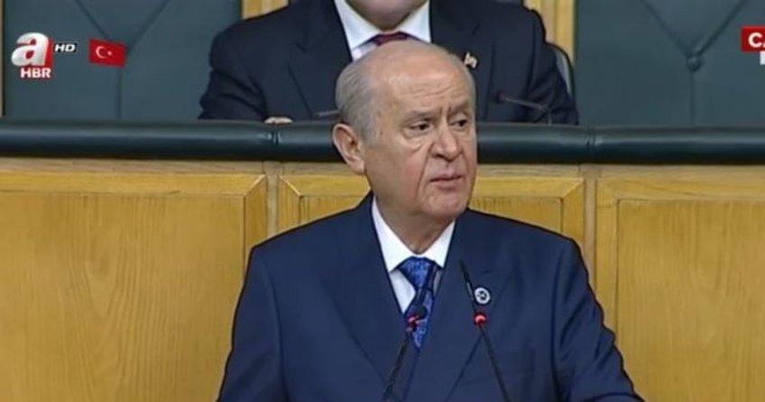 MHP Lideri Devlet Bahçeli grup toplantısında konuştu