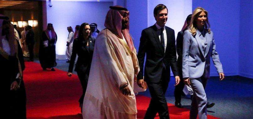 WHITE HOUSES KUSHNER TO PAY VISIT TO SAUDI ARABIA AND QATAR - REPORTS