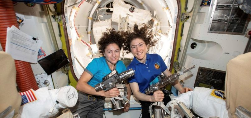 NASA ASTRONAUTS TO PERFORM FIRST ALL-WOMEN SPACEWALK
