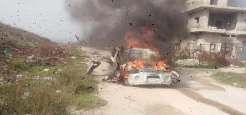 ASSAD REGIMES ATTACK KILLS 4 CIVILIANS, INJURES 2 IN IDLIB